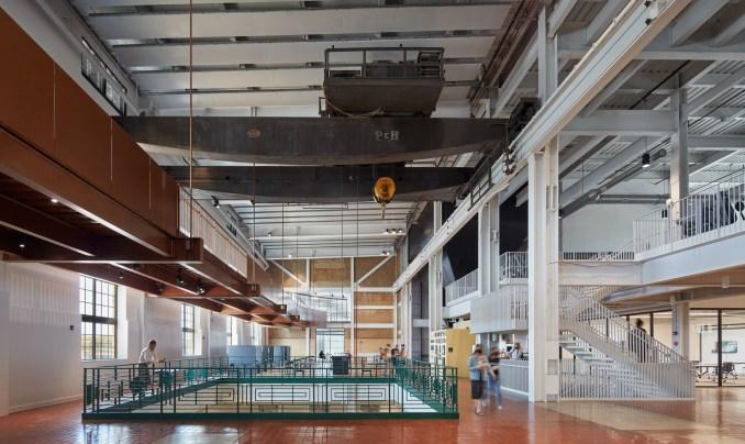 Interior of Beloit Powerhouse by Studio Gang