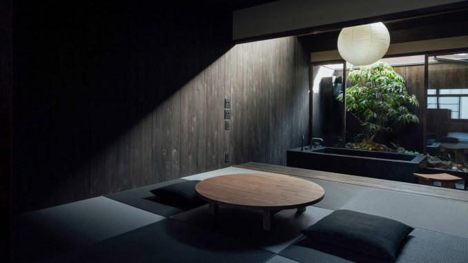 Japanese minimalist guesthouse