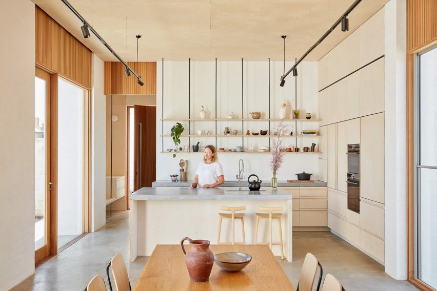Bright kitchen in Perth house