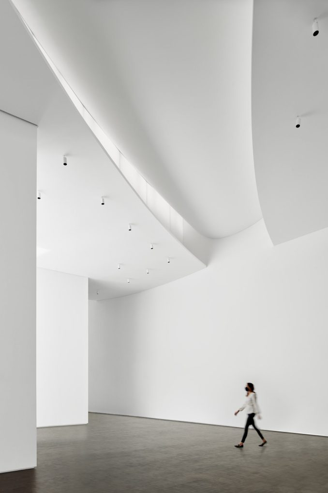 Gallery in Nancy and Rich Kinder Building by Steven Holl Architects