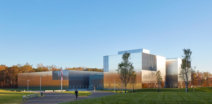 Exterior of National Museum of the United States Army by SOM