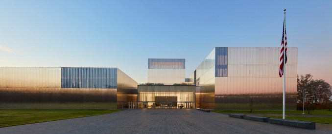 Exterior of the National Museum of the United States Army by SOM