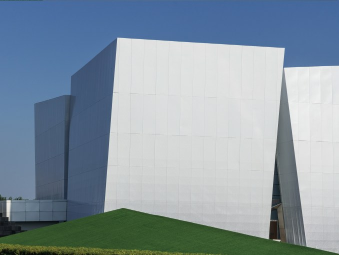 Exterior of Shuifa Geographic Information Industrial Park Exhibition Center by AOE in China