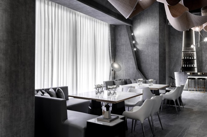 Dining area of The Flow of Ecstatic bar by Daosheng Design