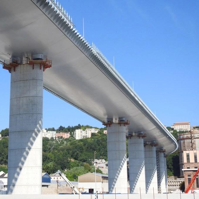 San Giorgio bridge by Renzo Piano