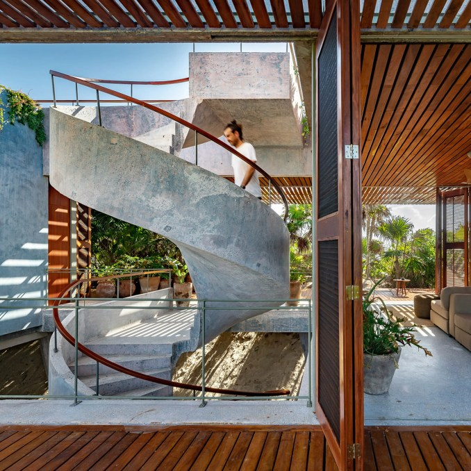 Staircase of Casa Bautista by Productora