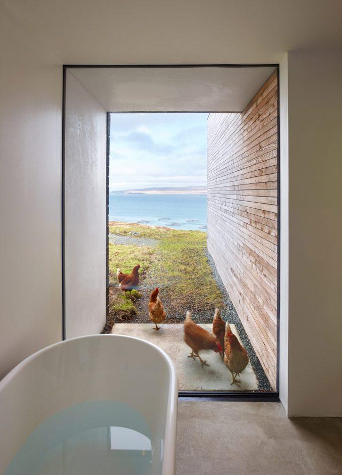 Bath with views of a loch