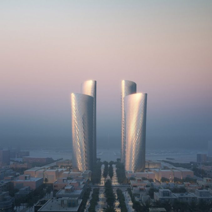Lusail Towers in Qatarby Foster + Partners