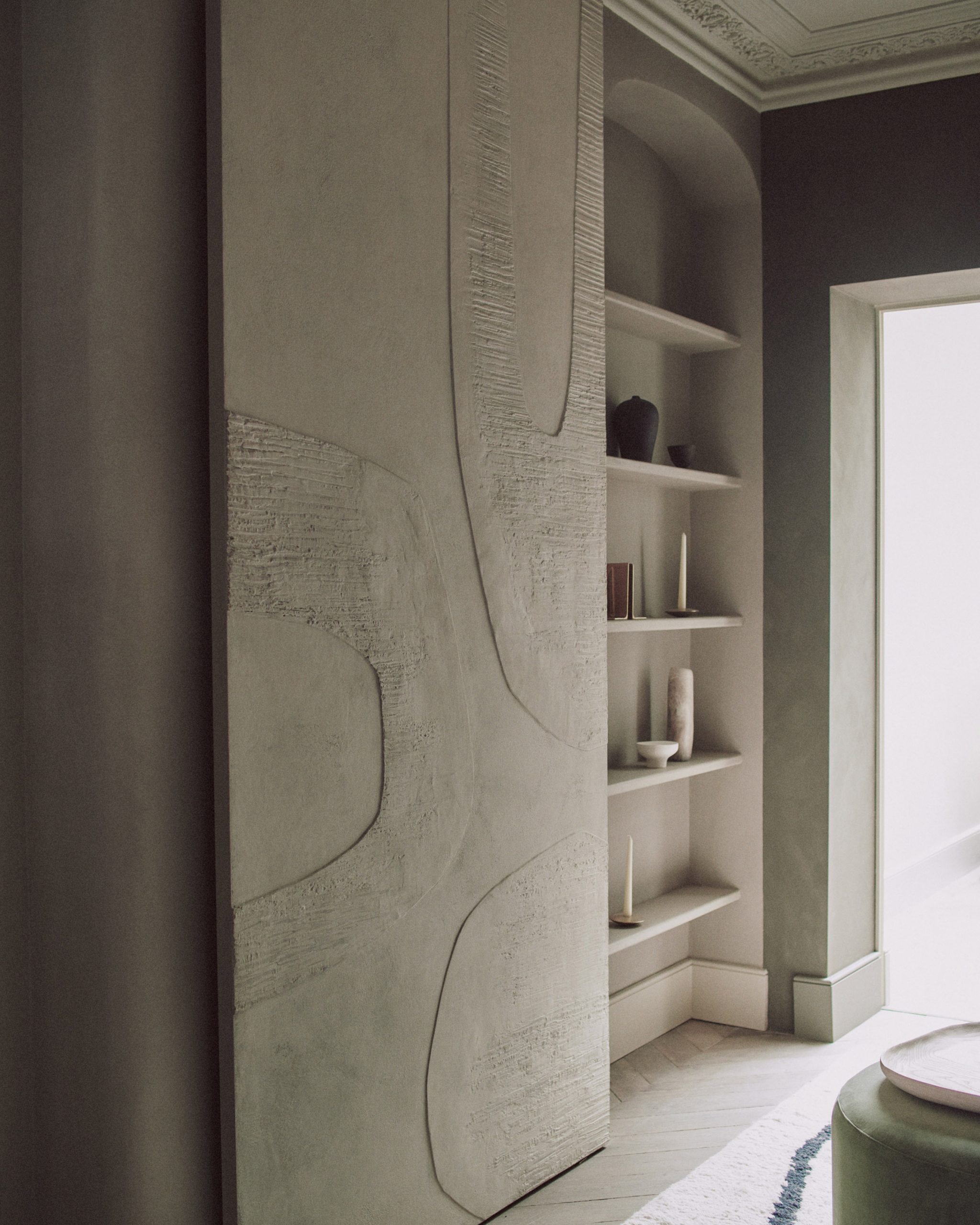 Shelving from House of Grey's Highgate House interior