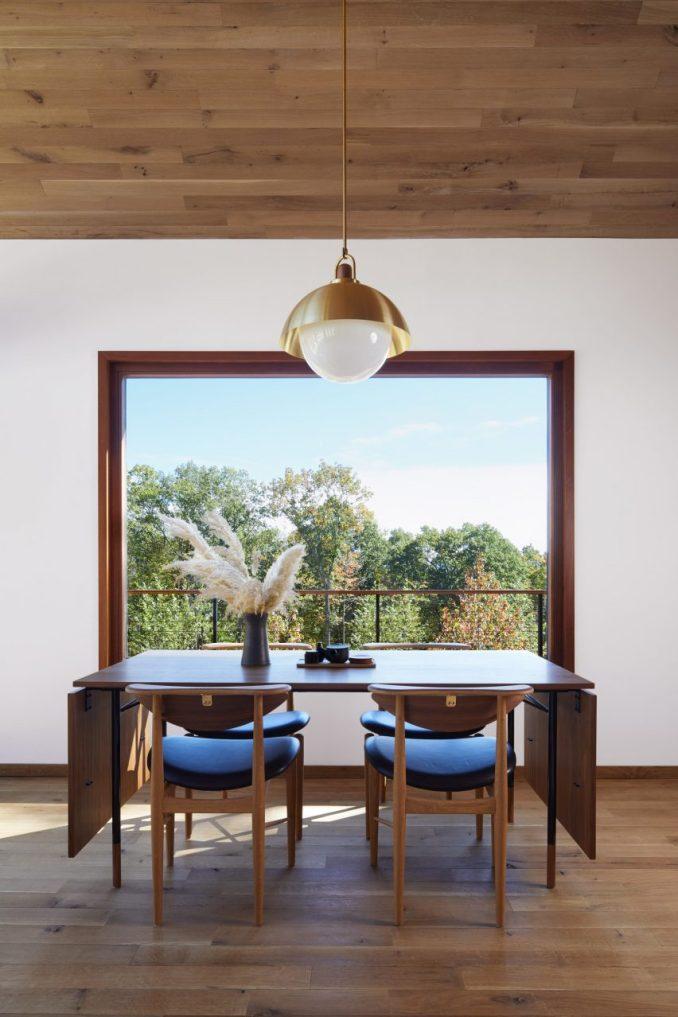 Japandi interior in Hudson Woods house