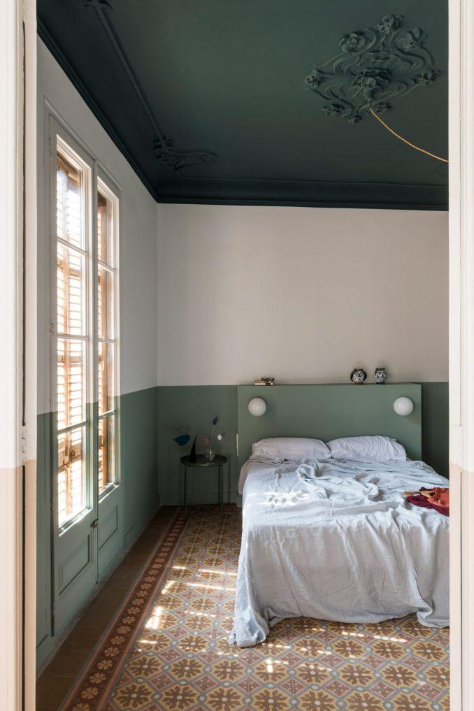 A peaceful bedroom