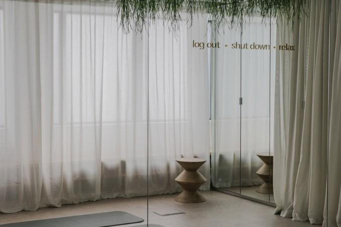 Wellness room fromUrban HQ office interior
