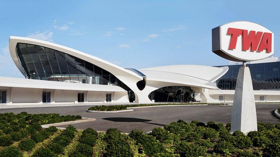 TWA Terminal in New York City, New York, by Eero Saarinen