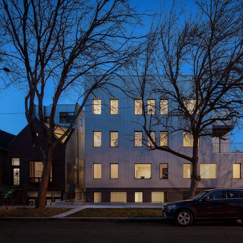 2016 W Rice housing in Chicago by Vladimir Radutny Architects