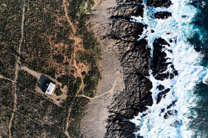 Casa SS is a house on the coast of Chile
