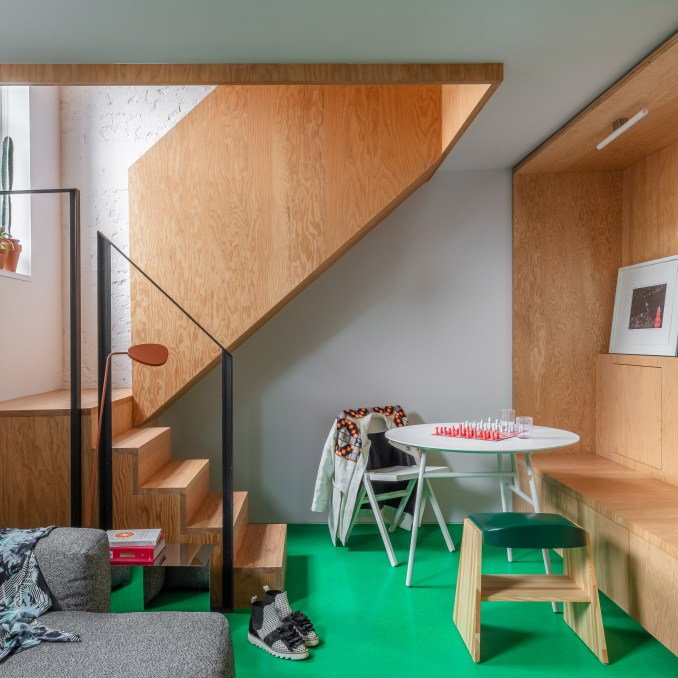 Two-storey home in High Street House by Noiascape Teatum+Teatum