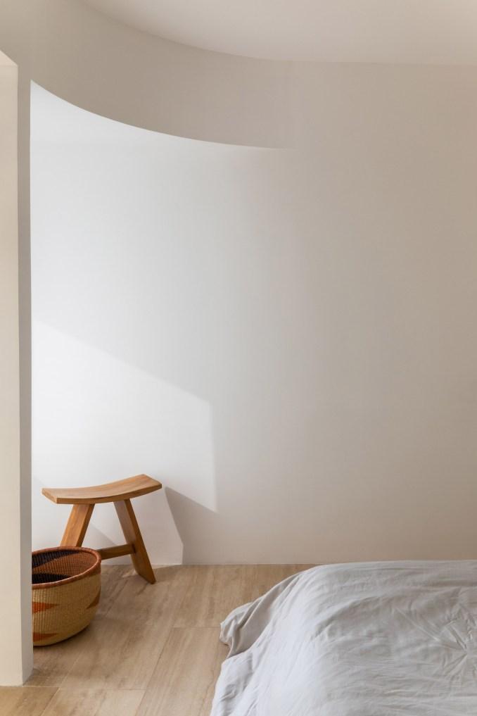 Interiors of housing block by Young & Ayata