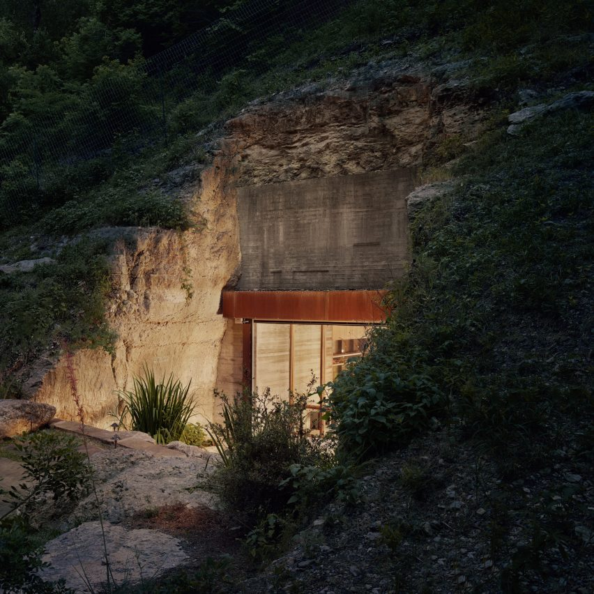 Entrance of Hill Country Wine Cave by Clayton Korte