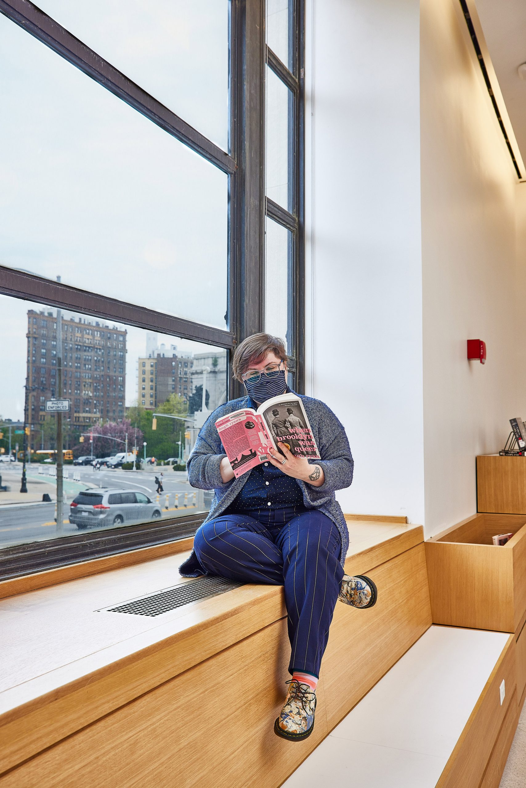 Toshiko Mori redesigned the Brooklyn library