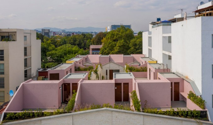 CPDA Arquitectos designed the residential project in Mexico City