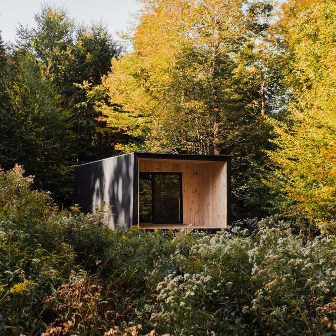 Marc Thorpe designed an off-grid house in Upstate New York
