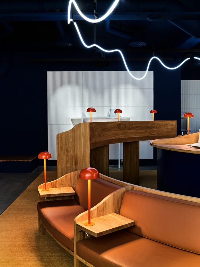 reMarkable pop-up store interior by Snohetta