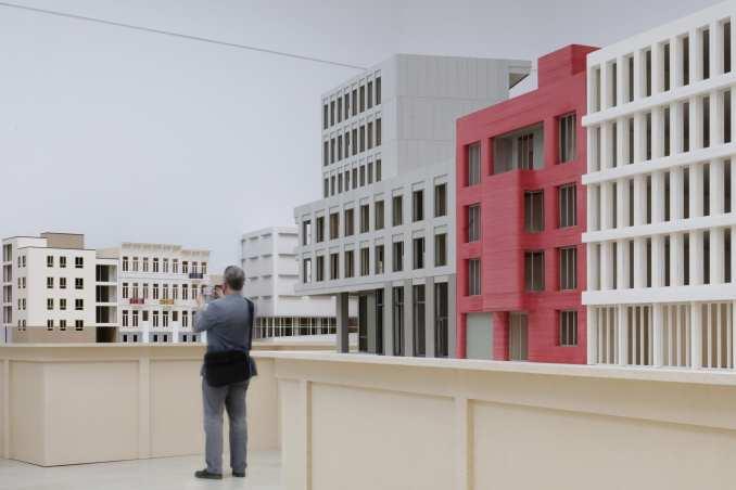 Bovenbouw Architectuur Venice Biennale installation
