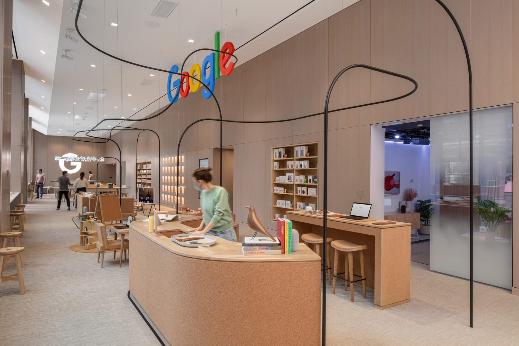 Google Store interior