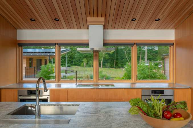 GRT Architects included custom millwork inside