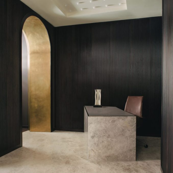Mandeville Place London office by Hollie Bowden