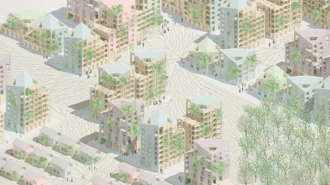 HomeForest designed for cities