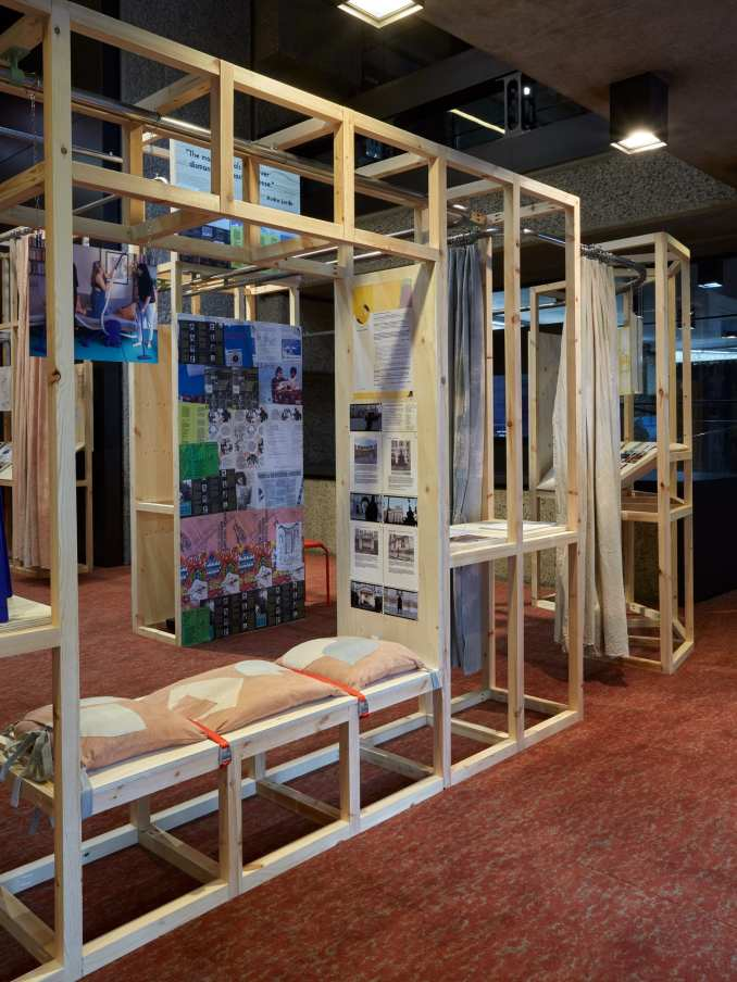 Contemporary projects at the How We Live Now exhibition