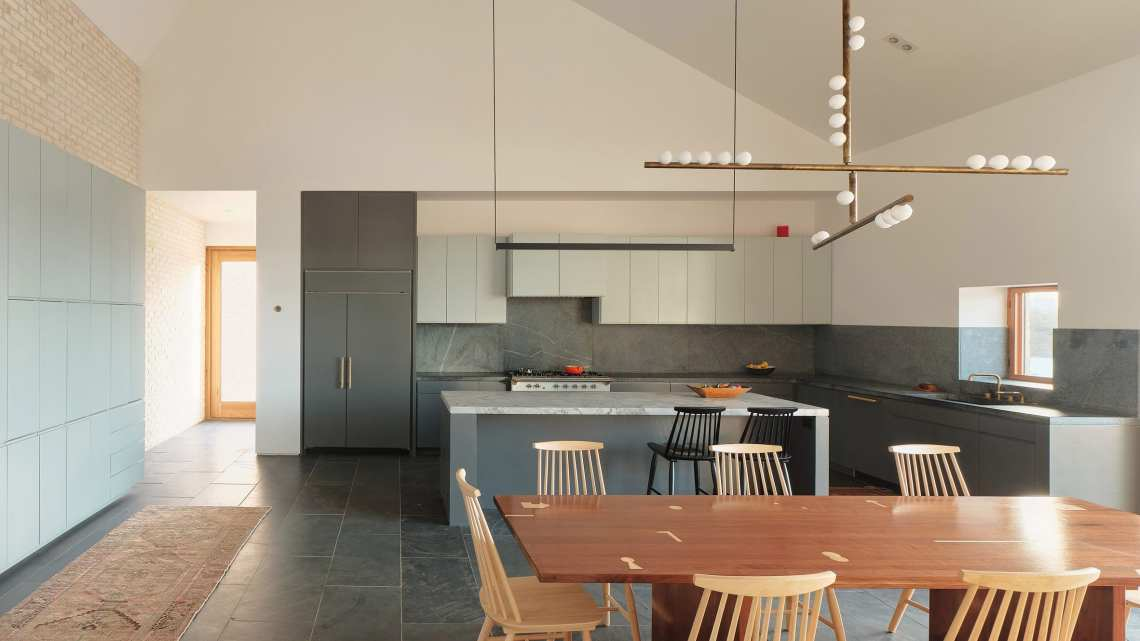 Ten Beautiful And Practical Combined Kitchen And Dining Rooms