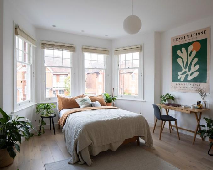 Bedroom in Bravura House by Selencky Parsons