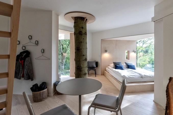 open plan bedroom by sigurd larsen