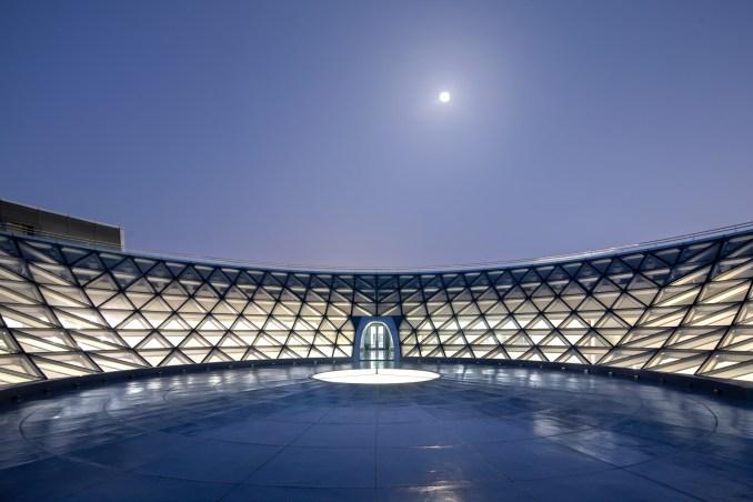 Roof top space at Shanghai planetarium