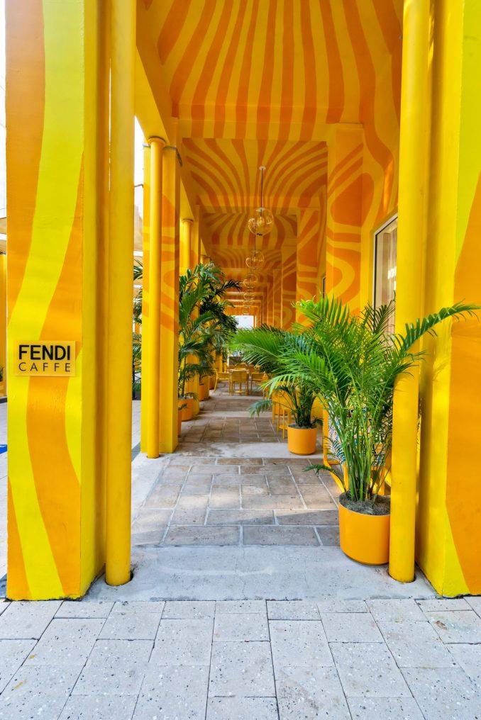 The Fendi Caffe was in Miami