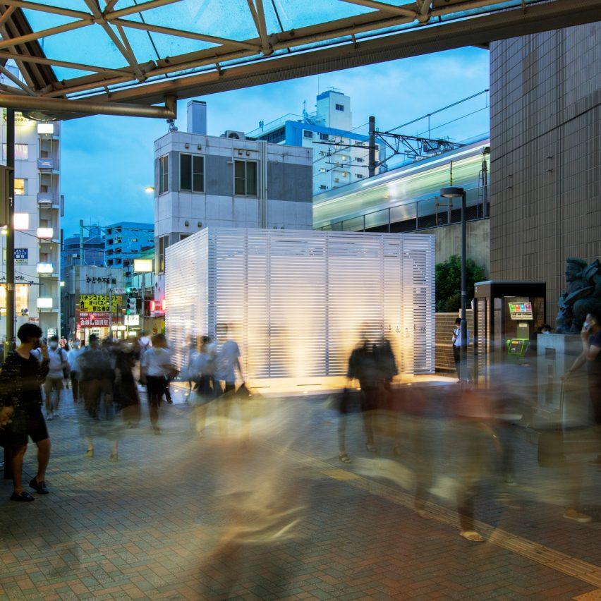 Ebisu Station Tokyo Toilet by Kashiwa Sato