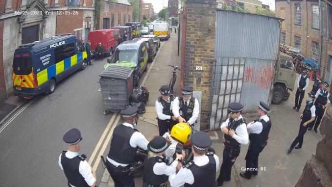 Antepavilion is raided