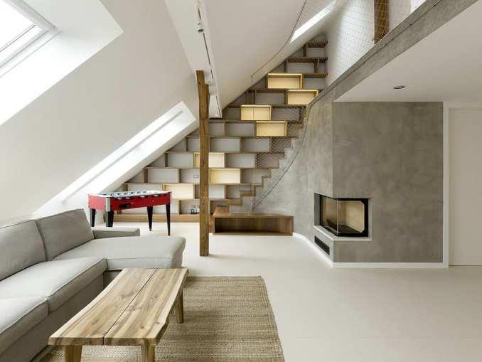A loft apartment in Prague