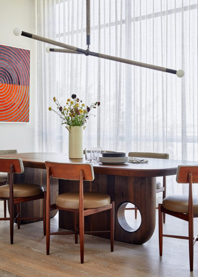 Dining area of Sag Harbor 2 in the Hamptons