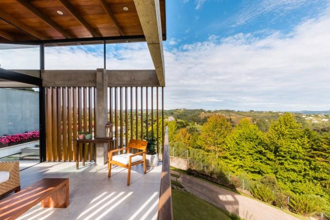 Outdoor living room brasil OTP Arquitetura