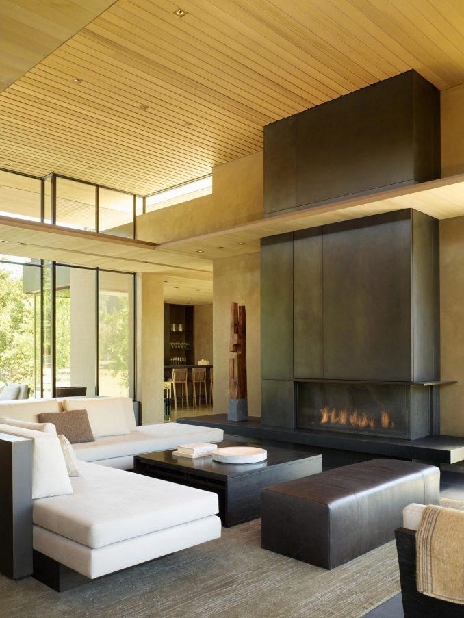California Meadow House has open plan rooms