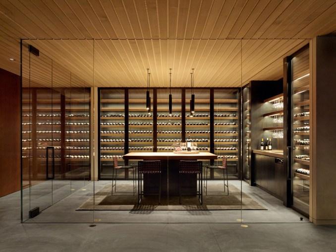 A subterranean pub features in California Meadow House