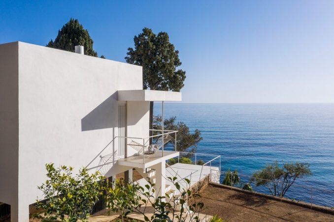 E-1027 villa by Eileen Gray