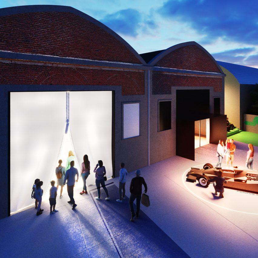 MAE Museum exterior rendering by Carlo Ratti Associati