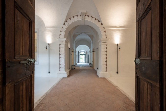 17th-century monastery in Italy