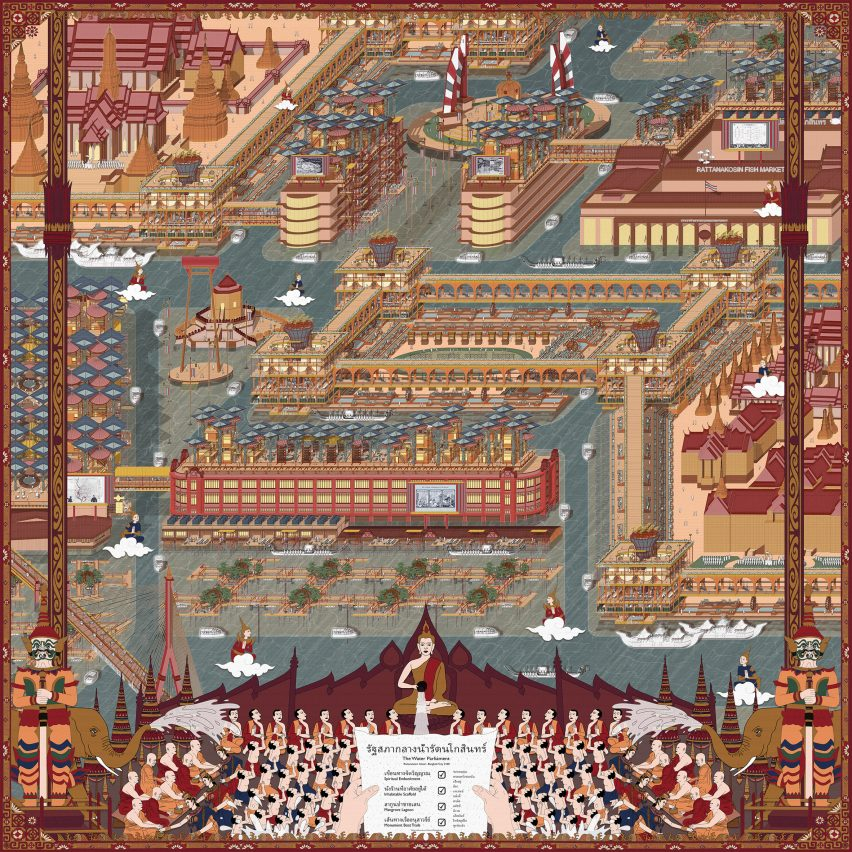 The Water Parliament – Bangkok City 2100