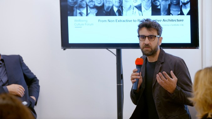 Joseph Grima at Therme Art talk