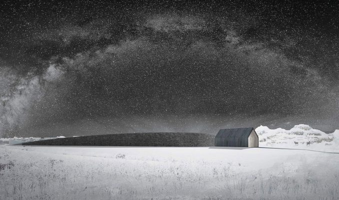 A conceptual image of The Museum of Snow
